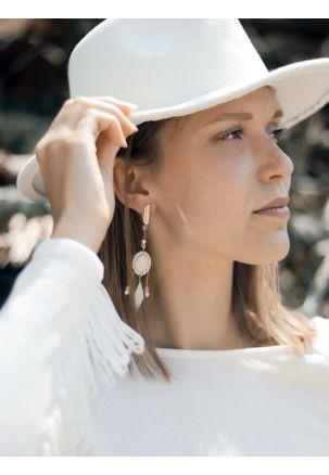 Ohrringe hochzeit rosegold