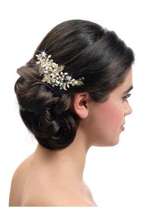 Haarschmuck für braut kurze haare