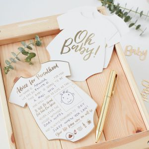 Ginger Ray OB-104 Oh Baby Beratungskarten