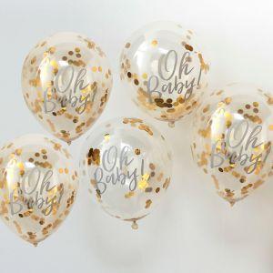 Ginger Ray OB-108 Oh Baby Konfetti-Ballons