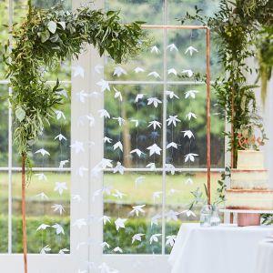Ginger Ray BR-305 Botanical Wedding Backdrop Origami Blumen