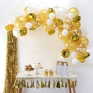 Goldener Ballonbogen BA-303 | Ginger Ray