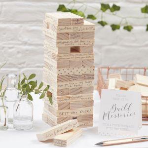 "Alternatives Gästebuch  ""Build a Memory""- Beautiful Botanics"