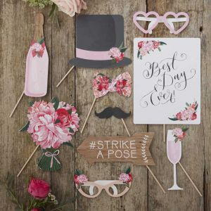 Photo booth props - Boho