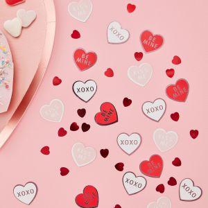 Ginger Ray VA-901 Be My Valentine Konfetti Herzen