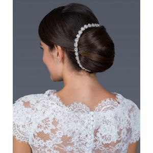 G. Westerleigh Haarband Hochzeit HS-J3766AS
