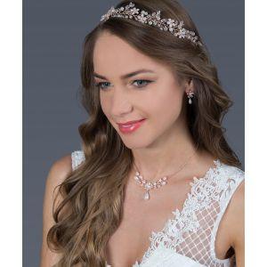 G. Westerleigh Haarband Hochzeit HS-J4637RG