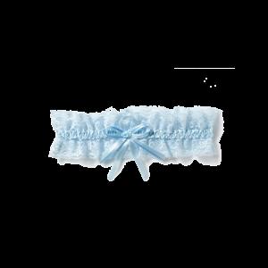 Poirier KB-55 Strumpfband Blau