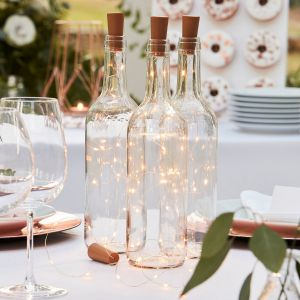 Ginger Ray BR-363 Botanical Wedding Flasche LED-Beleuchtung