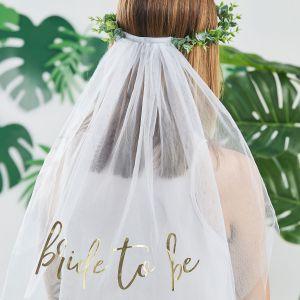 Ginger Ray BS-421 Botanical Hen Bride to Be Schleier