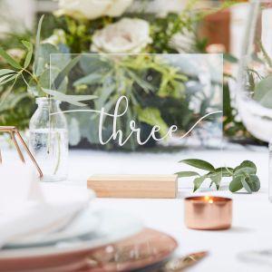 Ginger Ray BR-316 Botanical Wedding Tischnummern
