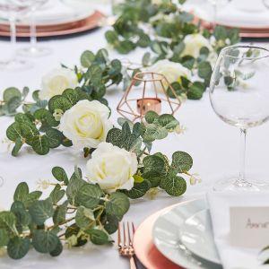 Ginger Ray BR-308 Botanical Wedding Eukalyptus-Rosengirlande