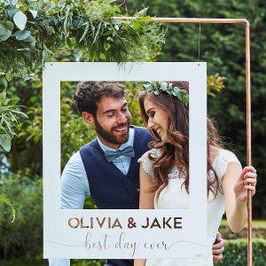 Ginger Ray BR-339 Botanical Wedding Fotokabinenrahmen