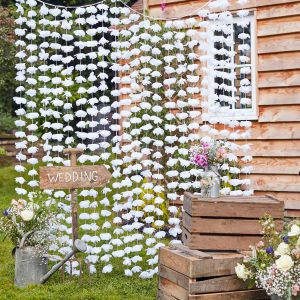 Ginger Ray CW-273 Rustic Country Blumen Backdrop