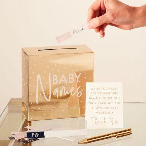 Ginger Ray GR-131 Gender Reveal Babynamen Box